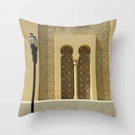 Oriental architecture Throw Pillow