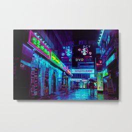 Jongro Nights Metal Print