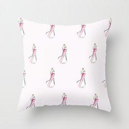 Bowtiful Throw Pillow