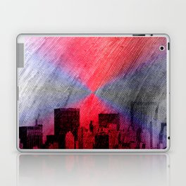 cityscape and colored sky -3- Laptop & iPad Skin