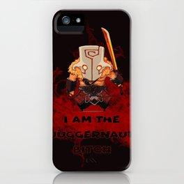 I am the Juggernaut bitc# iPhone Case