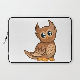 Cartoon Baby Owl Laptop Sleeve