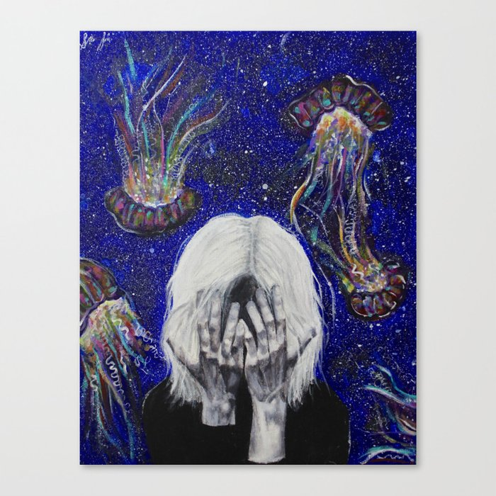 Junk Mind Canvas Print