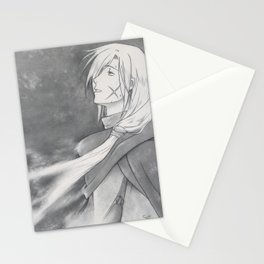 Gremio's Death - Suikoden - Tenei Star [ Only for real NERD ] Stationery Cards