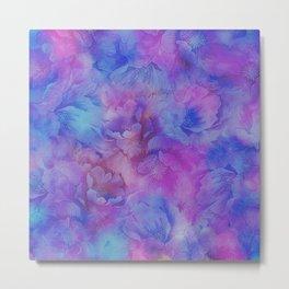 Painted Anemone Flowers 3 Metal Print