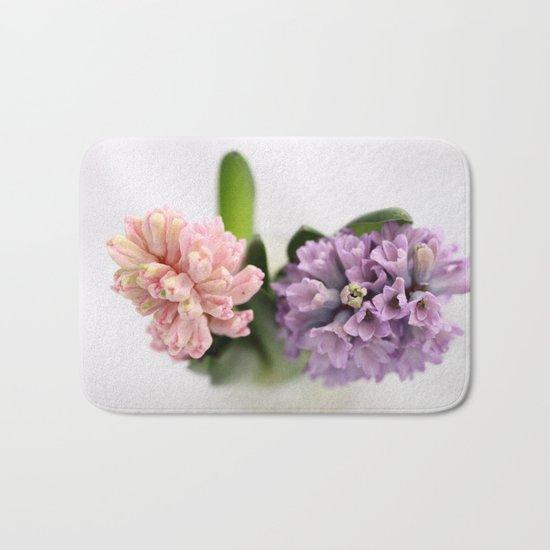 The Sweet Scent of Hyacinths - JUSTART © Bath Mat