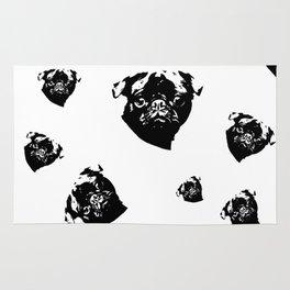 Pug Dog Gifts Rug