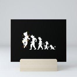 Evolution Mini Art Print