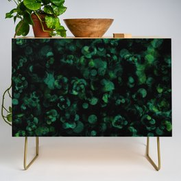 Dark Rich Bold Hunter, Forest, Kelly, Teal and Emerald Credenza