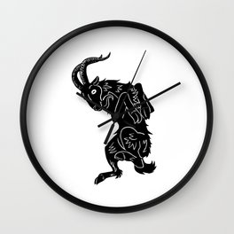 Live Deliciously Wall Clock