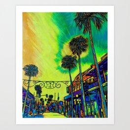 Ybor City Art Print