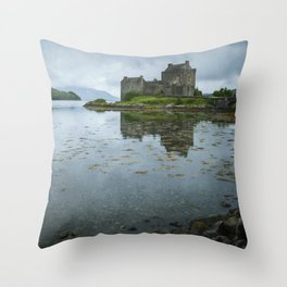 The Guardian of the Lake III Throw Pillow