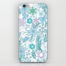 Bright xmas pattern iPhone & iPod Skin
