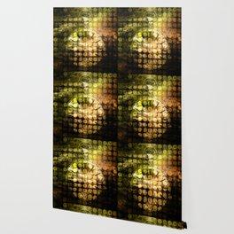 MELANGE WITH A CLOCK Wallpaper