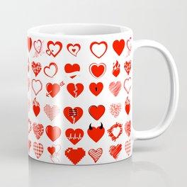 Heart and love Coffee Mug