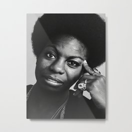 Nina Simone Poster Wall Art Picture Canvas Painting for Room Home Decor Metal Print