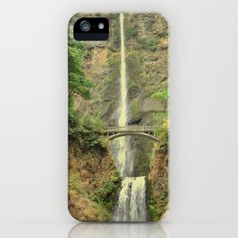 MULTNOMAH FALLS - OREGON iPhone Case