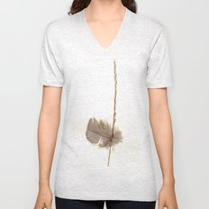Feathered Grass Unisex V-Neck