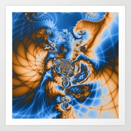 Asymmetric Peace Art Print