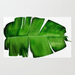 BANANA LEAF painting iPhone 4 4s 5 5c 6 7, pillow case, mugs and tshirt Rug