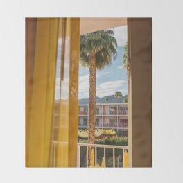 Palm Springs Dreams Throw Blanket