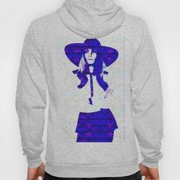 Cara Delevigne: Wide Brimmed Hat Hoody