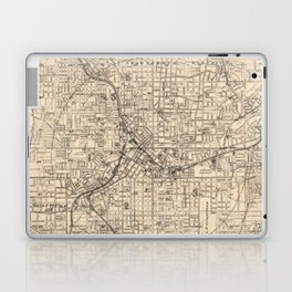 1906 Map of Atlanta, GA Laptop & iPad Skin