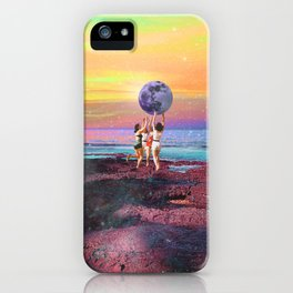 We could touch the moon iPhone Case