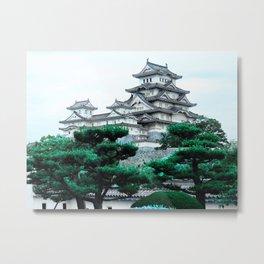 Himeji Castle (Japan) Metal Print