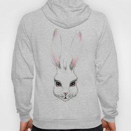 Alice in Wonderland Inspired Hare Pencil Illustration Hoody