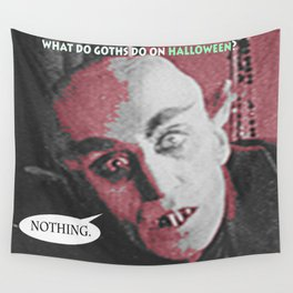 """'Count Orlock, the Vampire #3' from """" Nosferatu vs. Father Pipecock & Sister Funk (2014)"""" Wall Tapestry"""