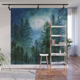 Silent Forest Wall Mural