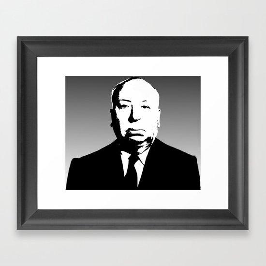 The Master Of Suspense Framed Art Print