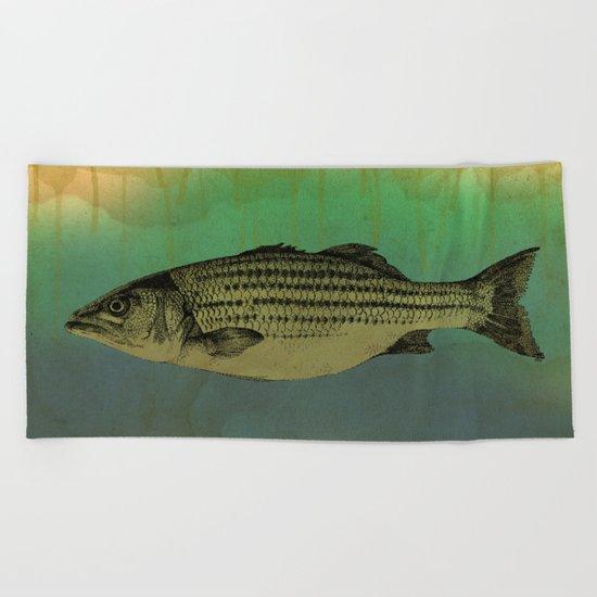 A Fish Beach Towel