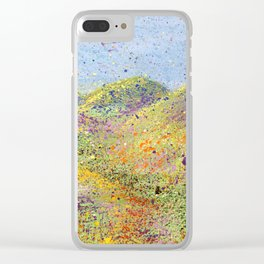 Painted Hills Clear iPhone Case