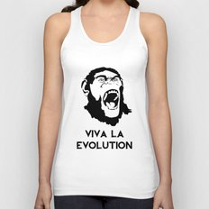 VIVA LA EVOLUTION Unisex Tank Top