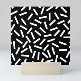 80s Memphis Bacteria Sprinkles Mini Art Print