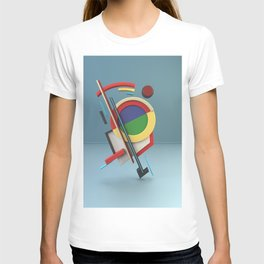 Constructivism & Suprematism in the style of Ivan Kliun (1 of 9) T-shirt