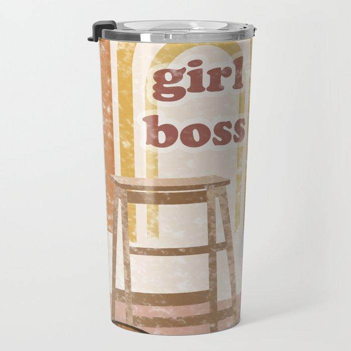 Girl Boss Travel Mug