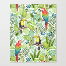 Tropical Rainforest Canvas Print