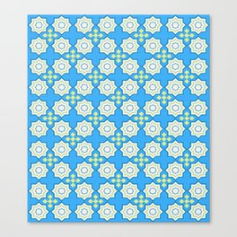 Festival of squares and diamonds. Pattern. Canvas Print