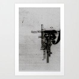 Piano Declination Art Print