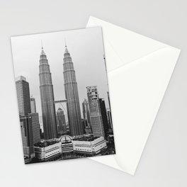 Petronas Towers Kuala Lumpur Stationery Cards