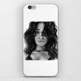 Camila Cabello Drawing iPhone Skin