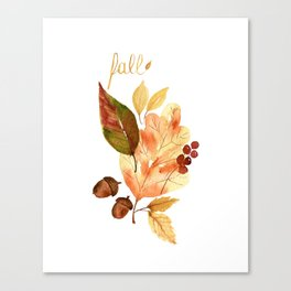 """Fall""ing For You Canvas Print"