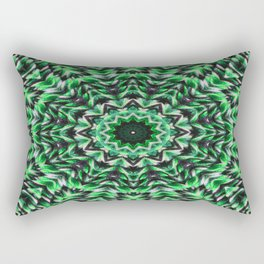 knit pattern kaleidoscope lll Rectangular Pillow