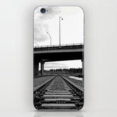 Nalley train tracks iPhone & iPod Skin
