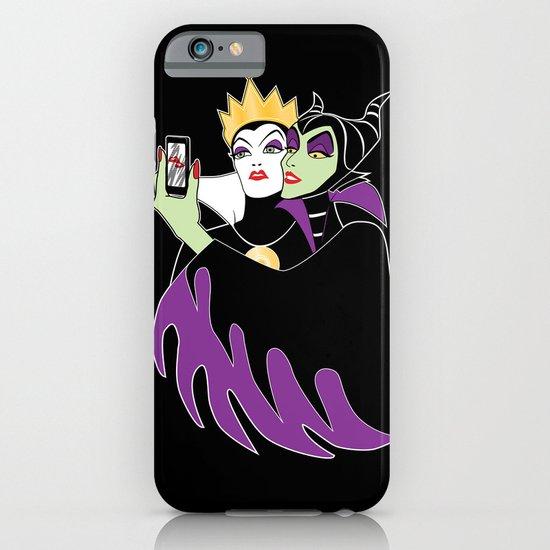 Grimhilde & Maleficent Selfie iPhone & iPod Case