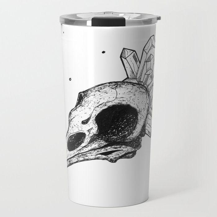 Raven Anatomy Travel Mug
