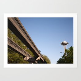 Beautiful Morning in the Emerald City Art Print